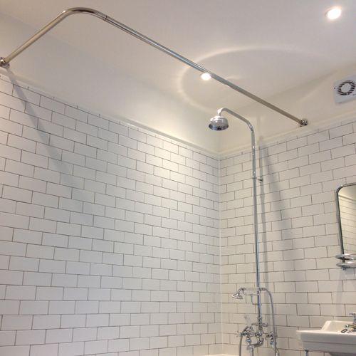 13 best Stainless Steel Shower Rails images on Pinterest ...