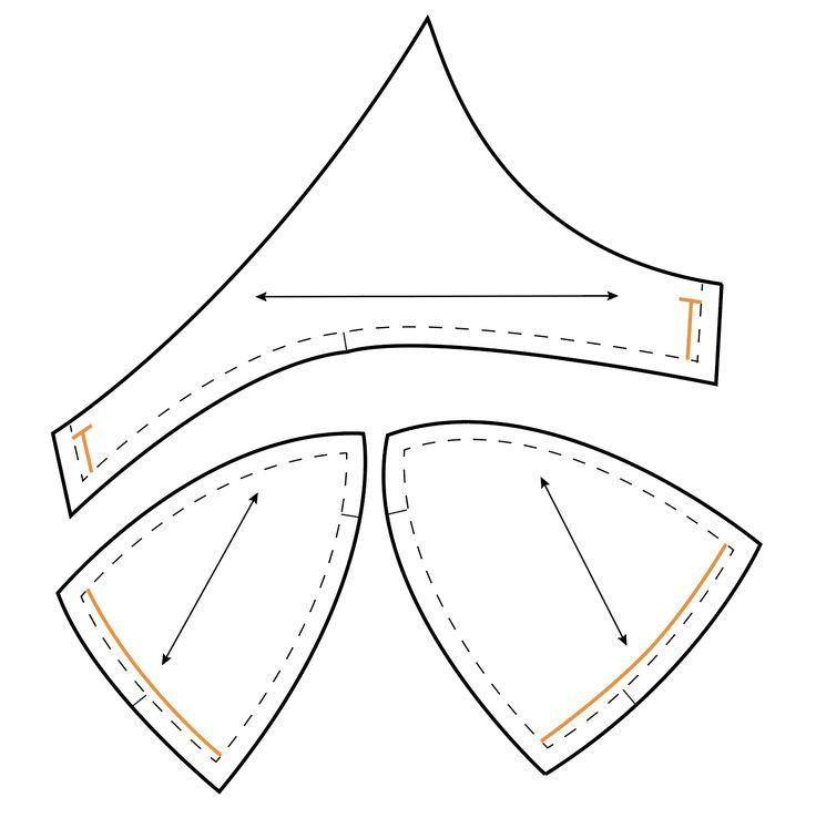 Measuring Wire Line of Fenway Bra by Orange Lingerie