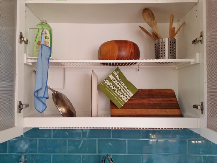 Very handy drying cabinet for dishes