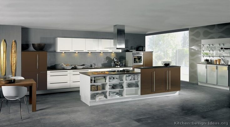 1000 Images About Black Kitchens On Pinterest Dark Wood Kitchens, Contemporary Kitchen Cabinets And photo - 2