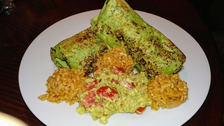 Garden Spinach Herb Burrito    1 (15-oz.) can Black beans drained and rinsed  1 (15 -oz.) Fat free can mashed beans  1 (13-oz.) Garbanzo beans cleaned and rinsed...
