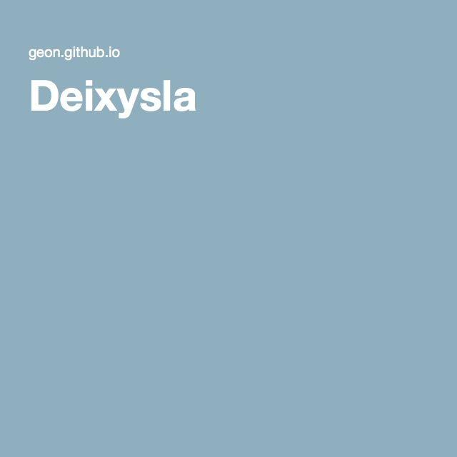 Deixysla