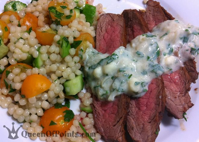 Spinach And Gorgonzola-Stuffed Flank Steak Recipe — Dishmaps