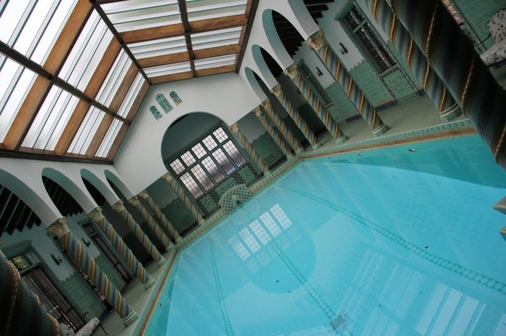 Indoor Pool Where The Movie Cocoon Was Filmed