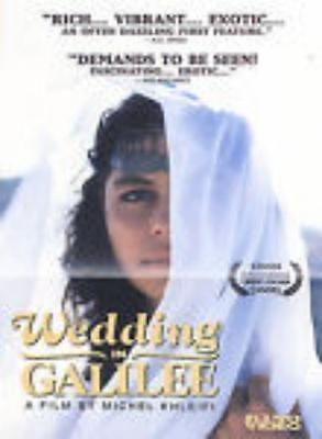 Wedding In Galilee DVD VIDEO MOVIE Israel Arab perspective Michel Khleifi's film