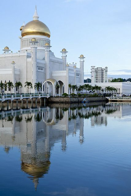 Bandar Seri Begawan, Brunei  http://www.besteno.com/questions/where-is-the-best-place-to-go-sight-seeing-in-brunei