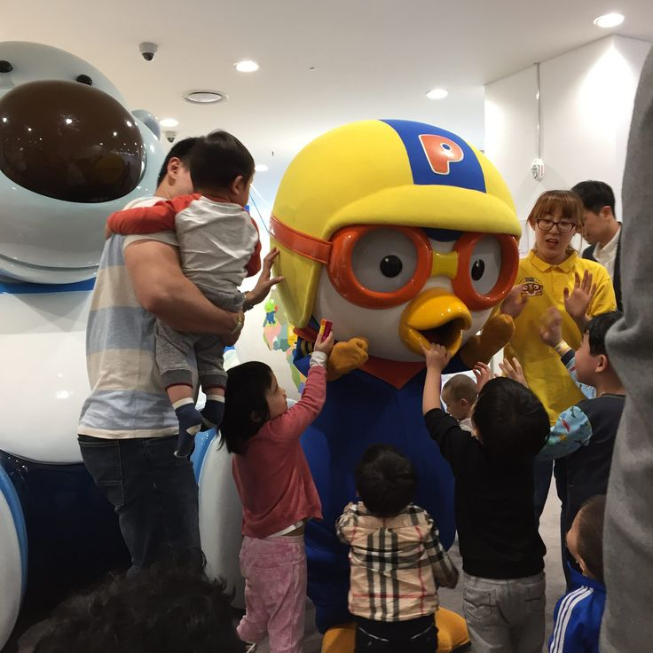 Pororo even made an appearance at Pororo Lounge