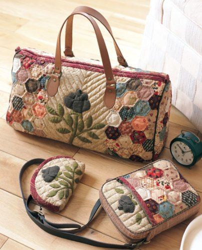 112 Popular Patchwork Bags and Pouches Japanese by CollectingLife