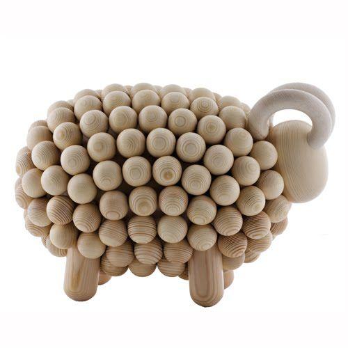 Wooden Sheep