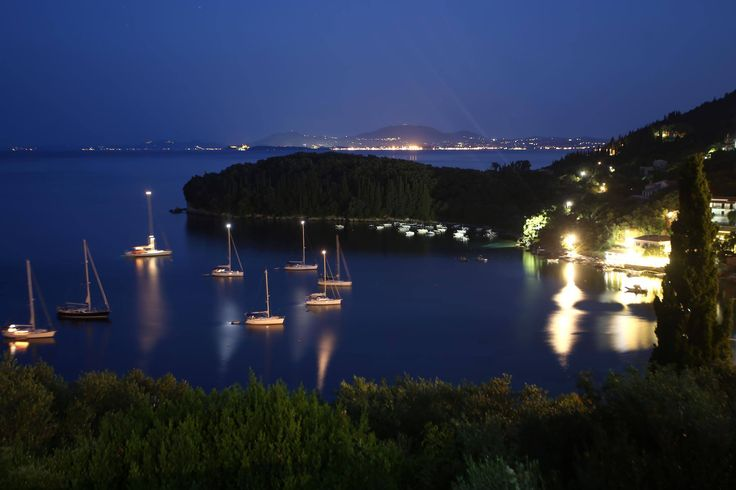 By night! See Corfu Town over there??...:))