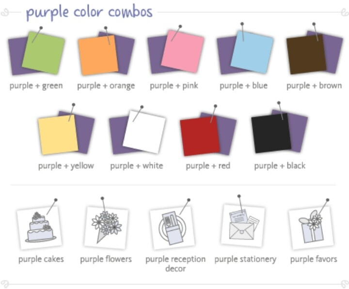 what color goes with purple. Black Bedroom Furniture Sets. Home Design Ideas