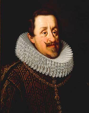 Ferdinand II. Štýrský, císař římský, král německý, uherský a český, arcivévoda rakouský, vévoda burgundský, štýrský, korutanský, kraňský a württenberský a  hrabě habsburský, flanderský a tyrolský