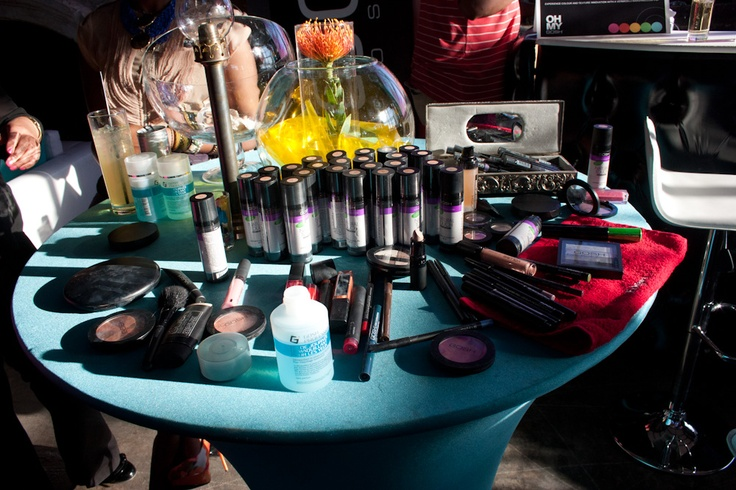 Complete Disbelief, GOSH SA Cosmetics, launch, makeup table, Edgars, Red Square