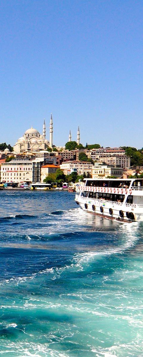 Golden Horn  (Haliç)  - Istanbul   Turkey