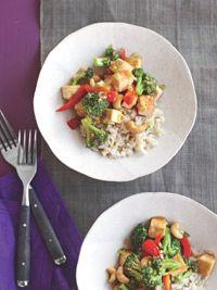 Cashew, Tofu, and Broccoli Stir-Fry - Healthy Recipe Finder | Prevention
