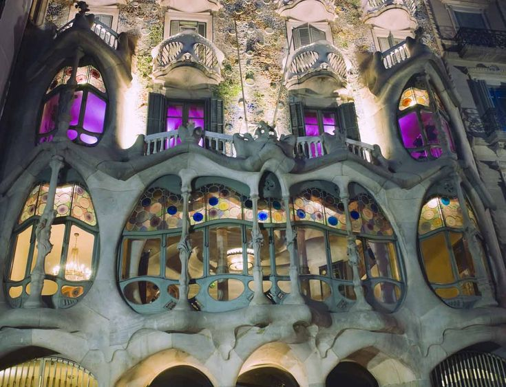 Casa Batló, em Barcelona