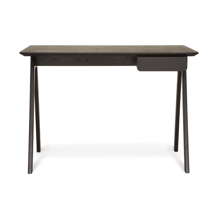 Blu Dot Stash Modern Desk   Graphite On Ash 1