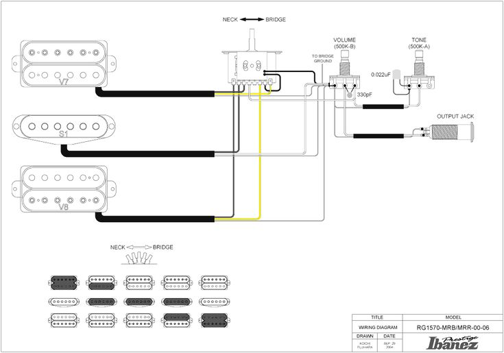 Coil Split With HSH Ibanez Wiring Diagram Saleexpert Me