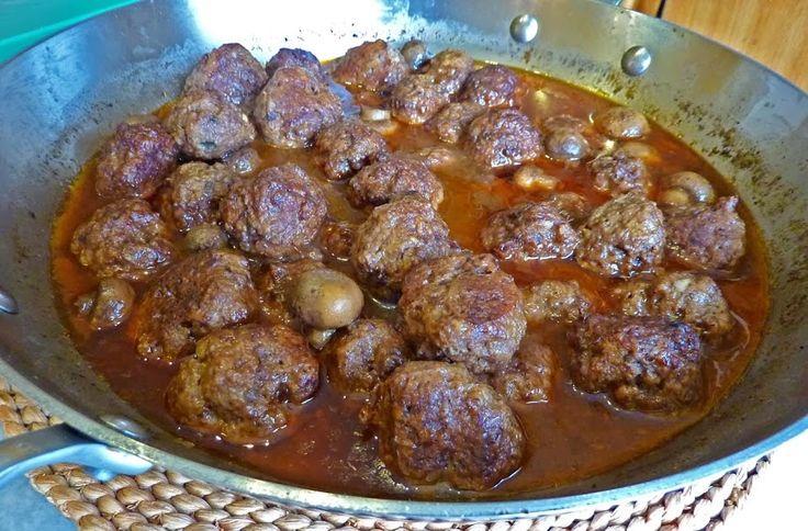 Meatballs Burgundy