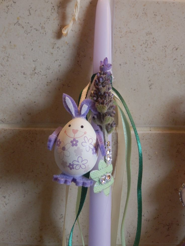 EASTER CANDLES 8