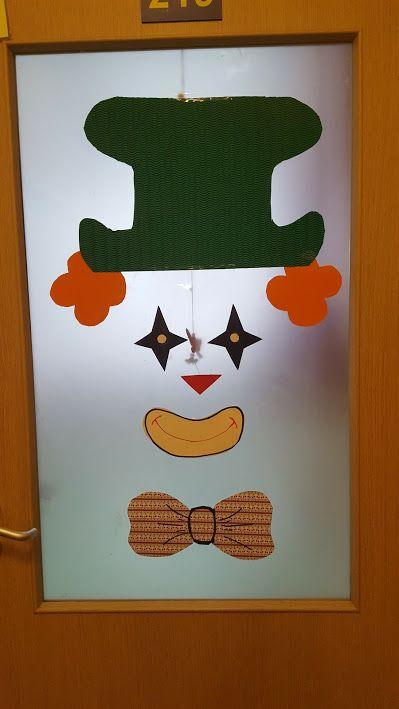 Door decor - ajtódekoráció - farsang