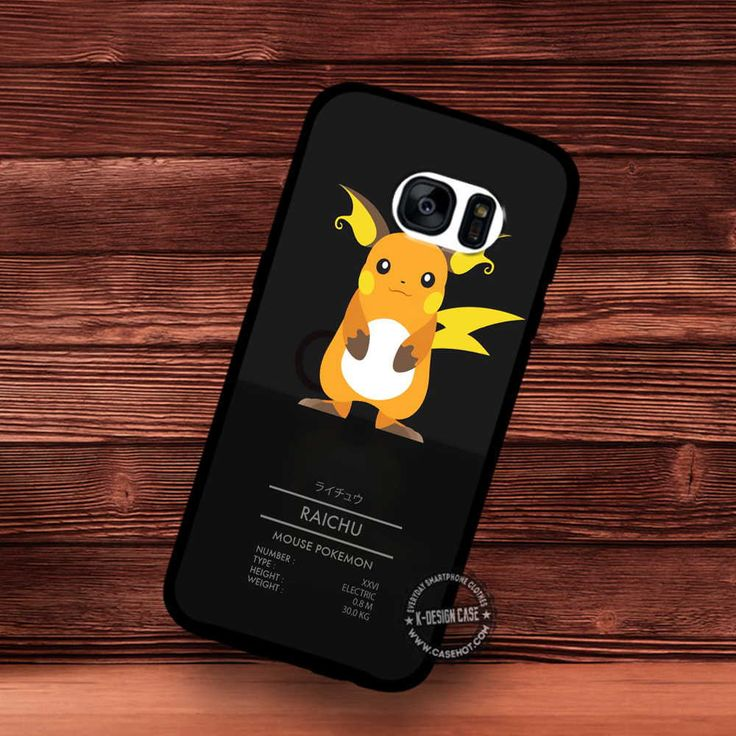 Raicu Mouse Pokemon - Samsung Galaxy S7 S6 S5 Note 7 Cases & Covers