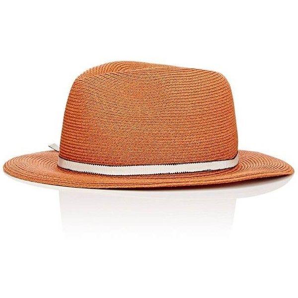 Eugenia Kim Women's Lillian Fedora (1.210 DKK) ❤ liked on Polyvore featuring accessories, hats, beige, hemp hats, brim fedora, eugenia kim fedora, fedora hat and beige fedora hat