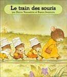 Pour décider ses sept petits à aller à l'école, Maman Souris a une idée formidable: Maman Souris invente une voie ferrée qui passe sous un tunnel. Tous les matins, elle se met sur les rails et fait la locomotive. Ses sept enfants et tous les amis s'accrochent à elle, comme des wagons.