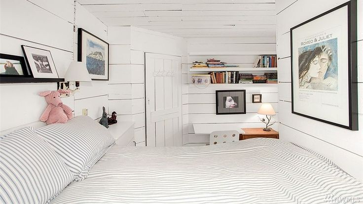 Stunning Eastlake floating home features shiplap on actual ship