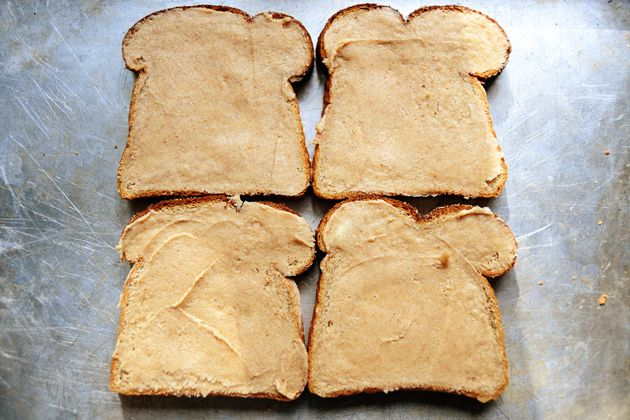 Cinnamon toast the right way, by The Pioneer Woman. Make a paste of butter, sugar, cinnamon, and vanilla, spread on bread and broil- DUHHH why didn't I think of that!