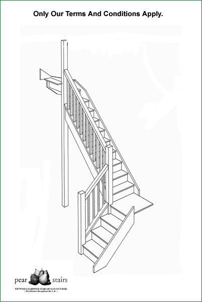 Ditton Court Staircase - staircase design.
