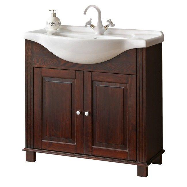 Szafka Pod Umywalke Retro Wenge 85 Cm Pod Umywalke Szafki Meble Lazienkowe Meble Urzadzanie Diy Bathroom Vanity Bathroom Vanity Vanity