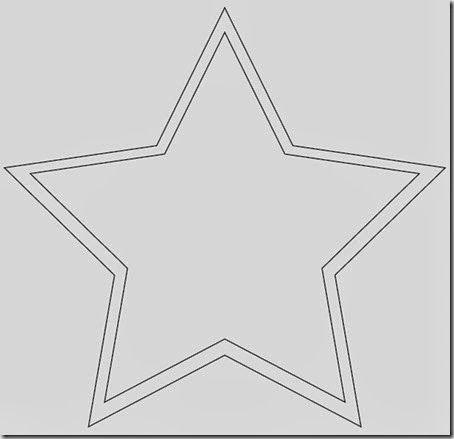 Plantillas estrella navidad para imprimir estrellas de - Plantilla estrella navidad ...