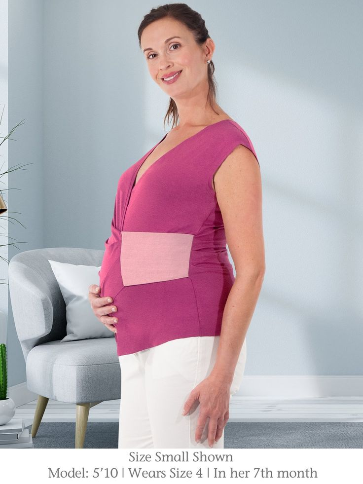 FAYA – Maternity / Nursing Top Beautifully Carved (Chestnut)   – Products