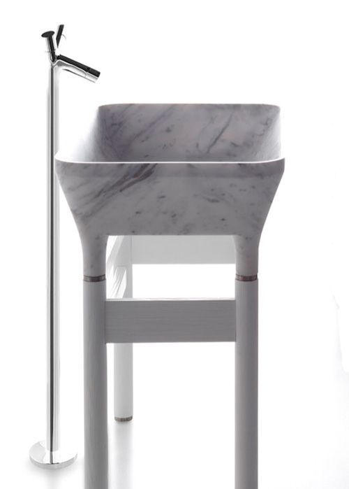 LOTO- marble basin by Kreoo