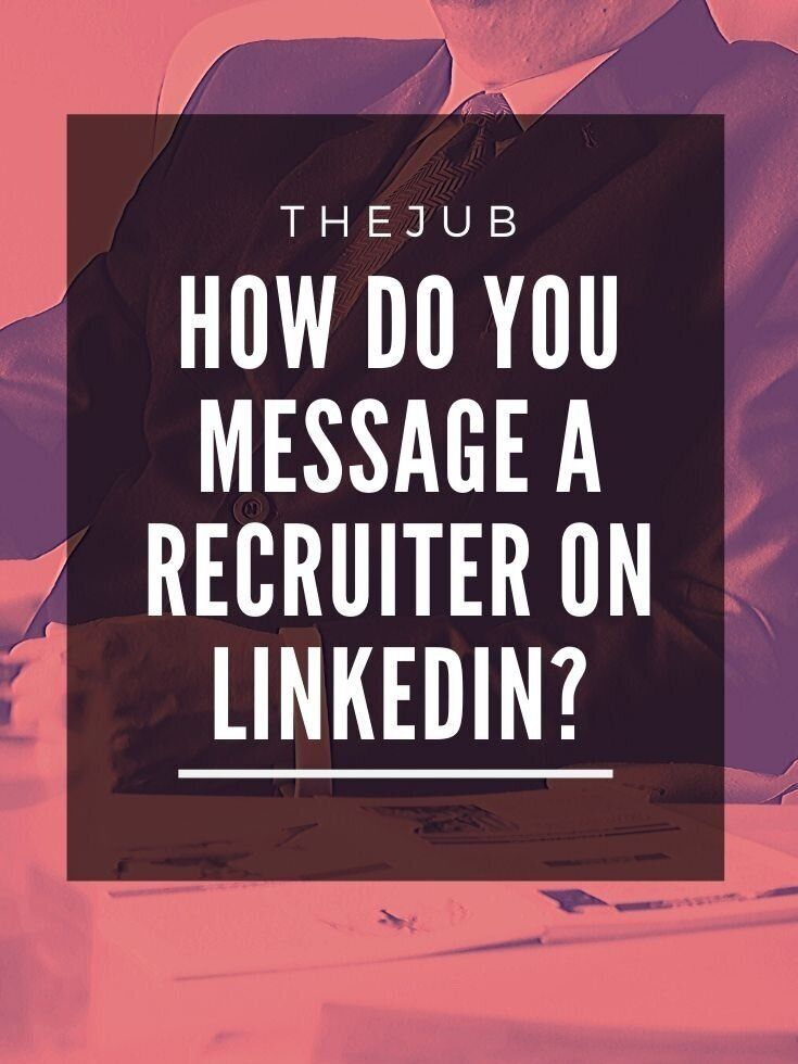 How To Message A Recruiter On Linkedin Sample Messages Recruitment Linkedin Tips Job Recruiters
