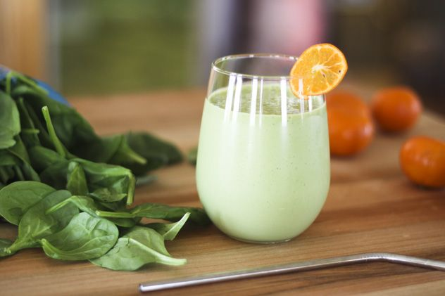 Green Orange Julius Recipe- all I know is I <3 Orange Julius, so I'll have to give this a try :)
