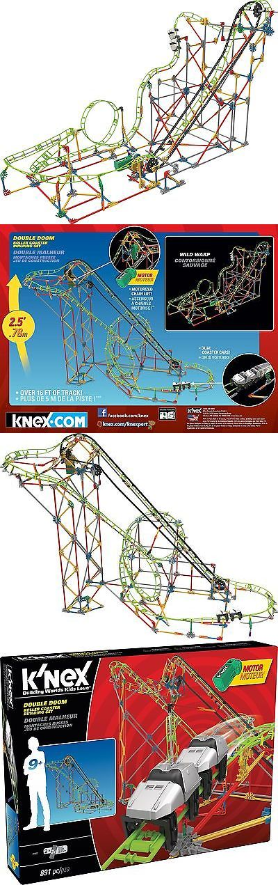 KNEX 21254: Knex Thrill Rides Double Doom Roller Coaster Building Set 891 Pieces Ages... -> BUY IT NOW ONLY: $51.23 on eBay!