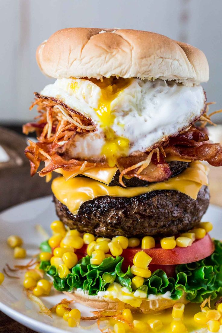 Brazilian Epic Burger with Egg