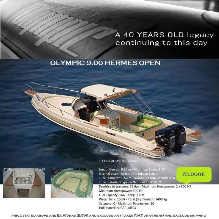 Olympic 9.00 Hermes Open...  ( 75.000€ )  Luxury  Powerful Family friendly RIB boats...  Make your RIB dreams come true..!   contact: info@hst.gr https://info864893.wixsite.com/merkatis-charis