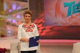 Teo, TV host Carpet Diem Blouse By Lana Dumitru  #lana #dumitru #lanadumitru #digitalprint