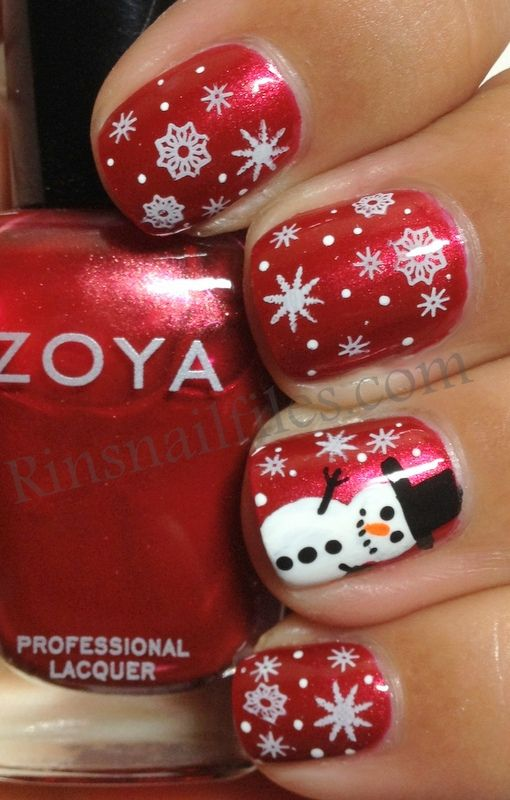 what pretty polish and how it is decorated. CUTE