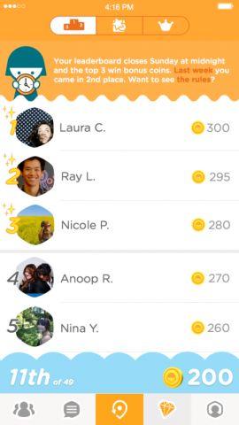 Leaderboards και εικονικά νομίσματα για το #Swarm! #socialmedialife