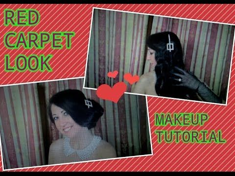 #Red carpet look &  Makeup Tutorial/  Образ для красной дорожки и макияж...