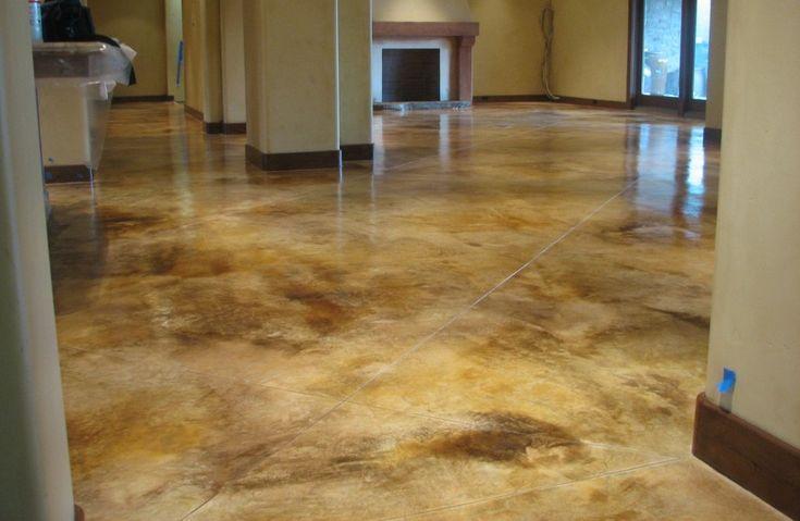 Best 25 Indoor concrete stain ideas on Pinterest
