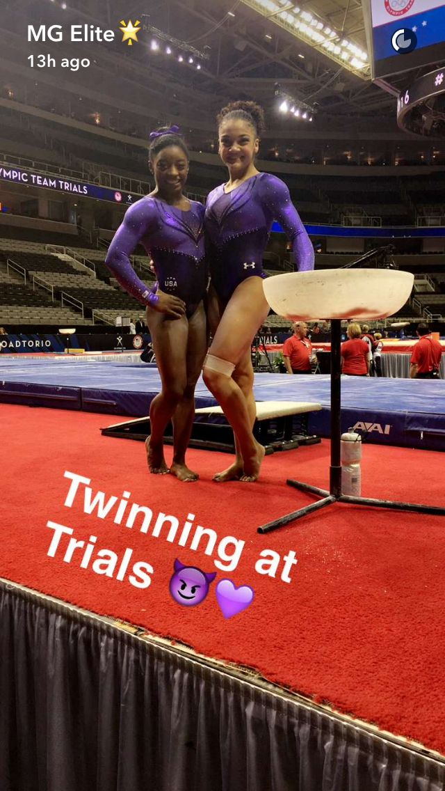 purple and gold gymnastics meet scores