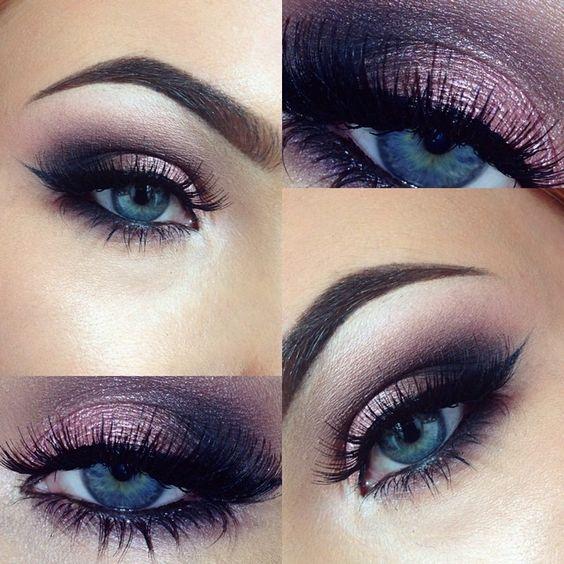 10 Awesome Eye Makeup Sieht nach blauen Augen