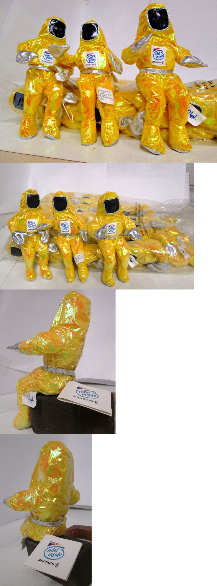 1970-Now 1187: (25) Intel Pentium Ii Bunny People Astronaut Space Like Figurines Toys -> BUY IT NOW ONLY: $69.99 on eBay!