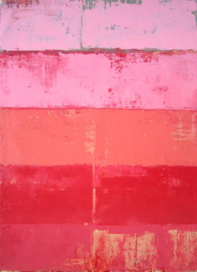 shades of pink wall palette