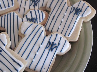 NY Yankees Cookies